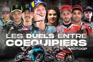 les duels entre coéquipiers MotoGP