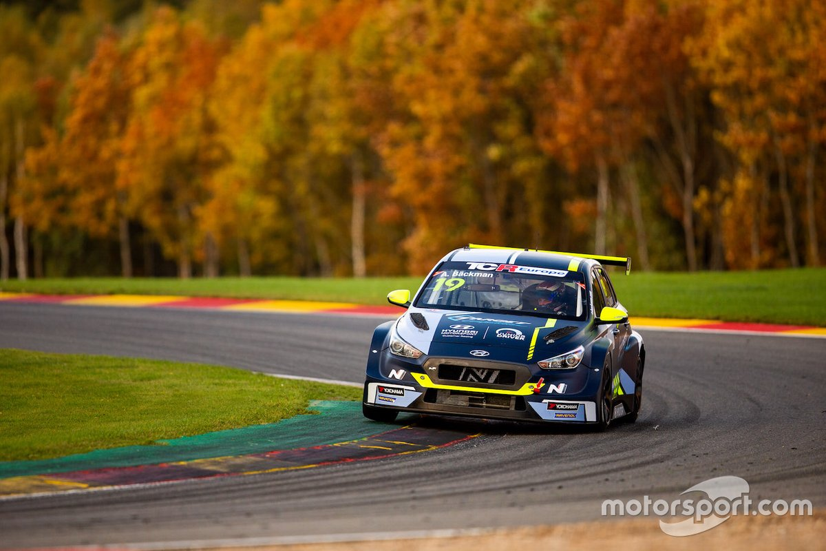 Andreas Backman, Target Competition, Hyundai i30 N TCR