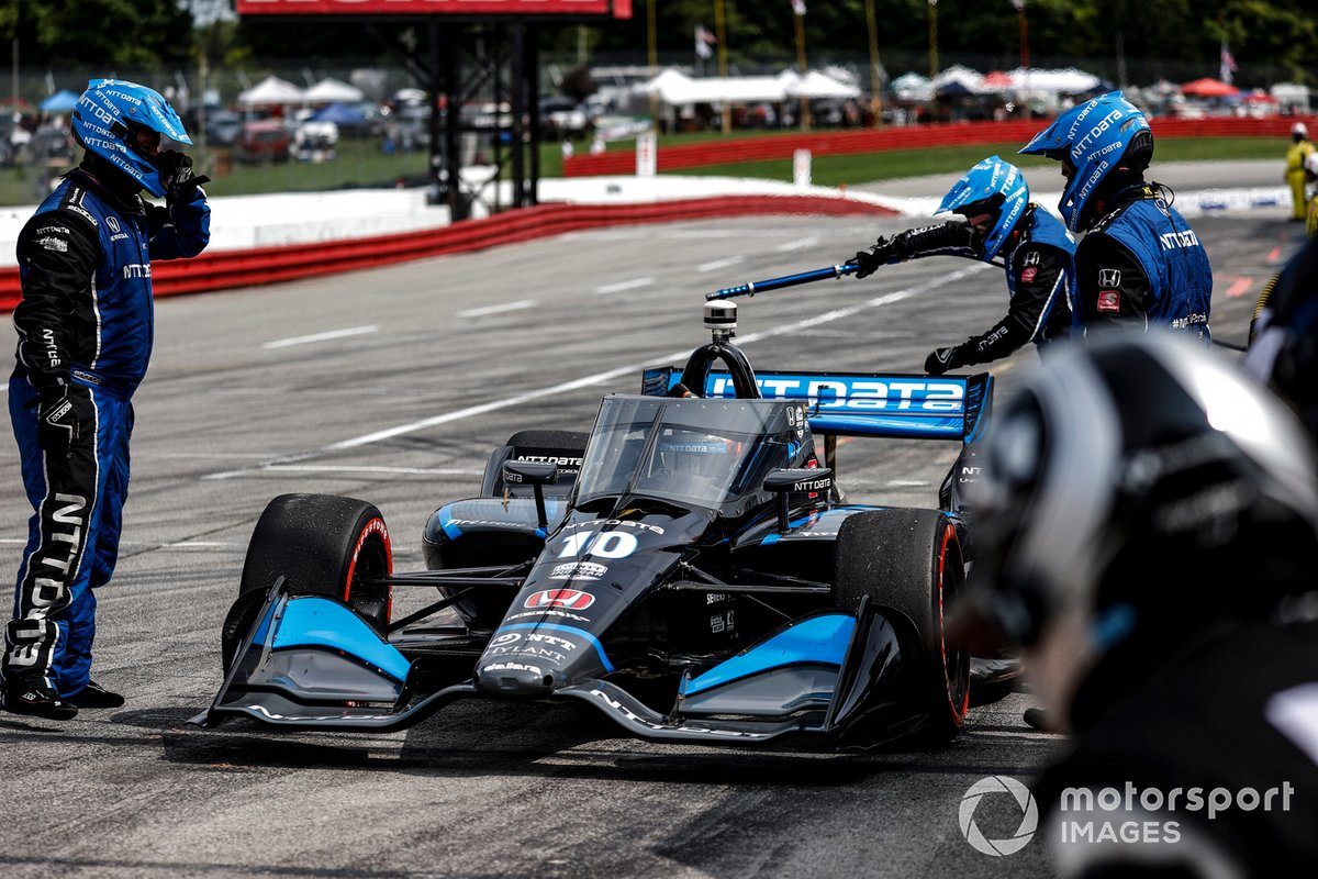 Felix Rosenqvist, Chip Ganassi Racing Honda,