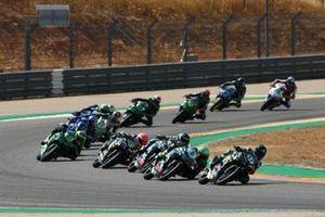 Koen Meuffels, MTM Kawasaki Motoport, Mika Perez, Prodina Ircos Team WorldSSP300
