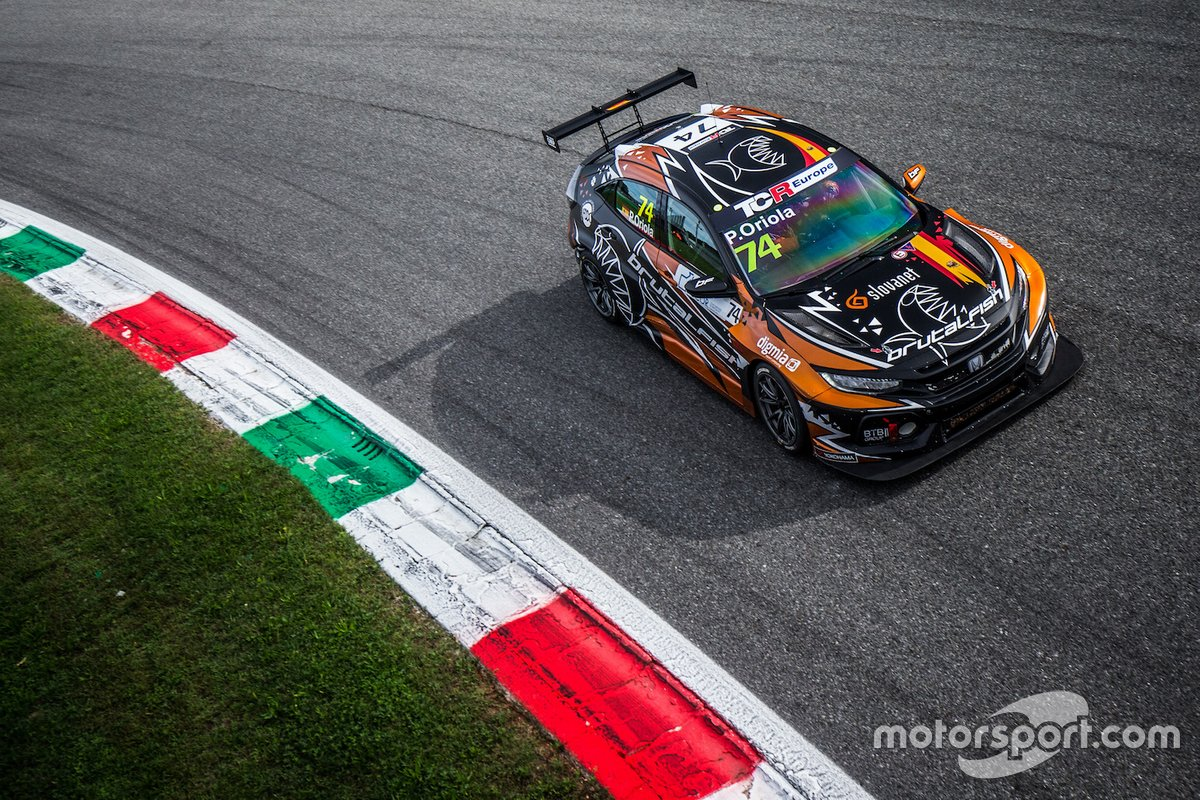 Pepe Oriola, Brutal Fish Racing Team, Honda Civic Type R TCR