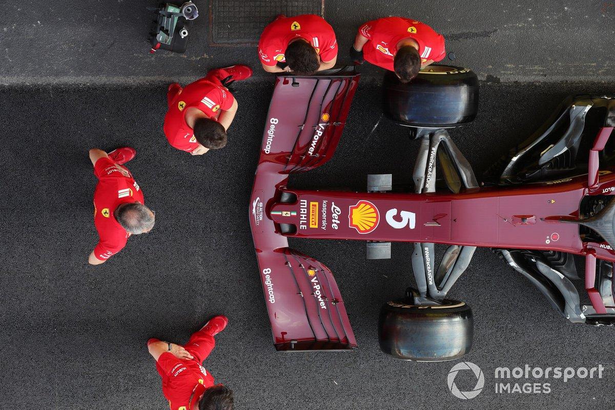 Ferrari SF1000 de Sebastian Vettel