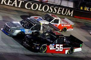 Timmy Hill, Hill Motorsports, Chevrolet Silverado, Johnny Sauter, ThorSport Racing, Ford F-150 Vivitar, Ross Chastain, Niece Motorsports, Chevrolet Silverado