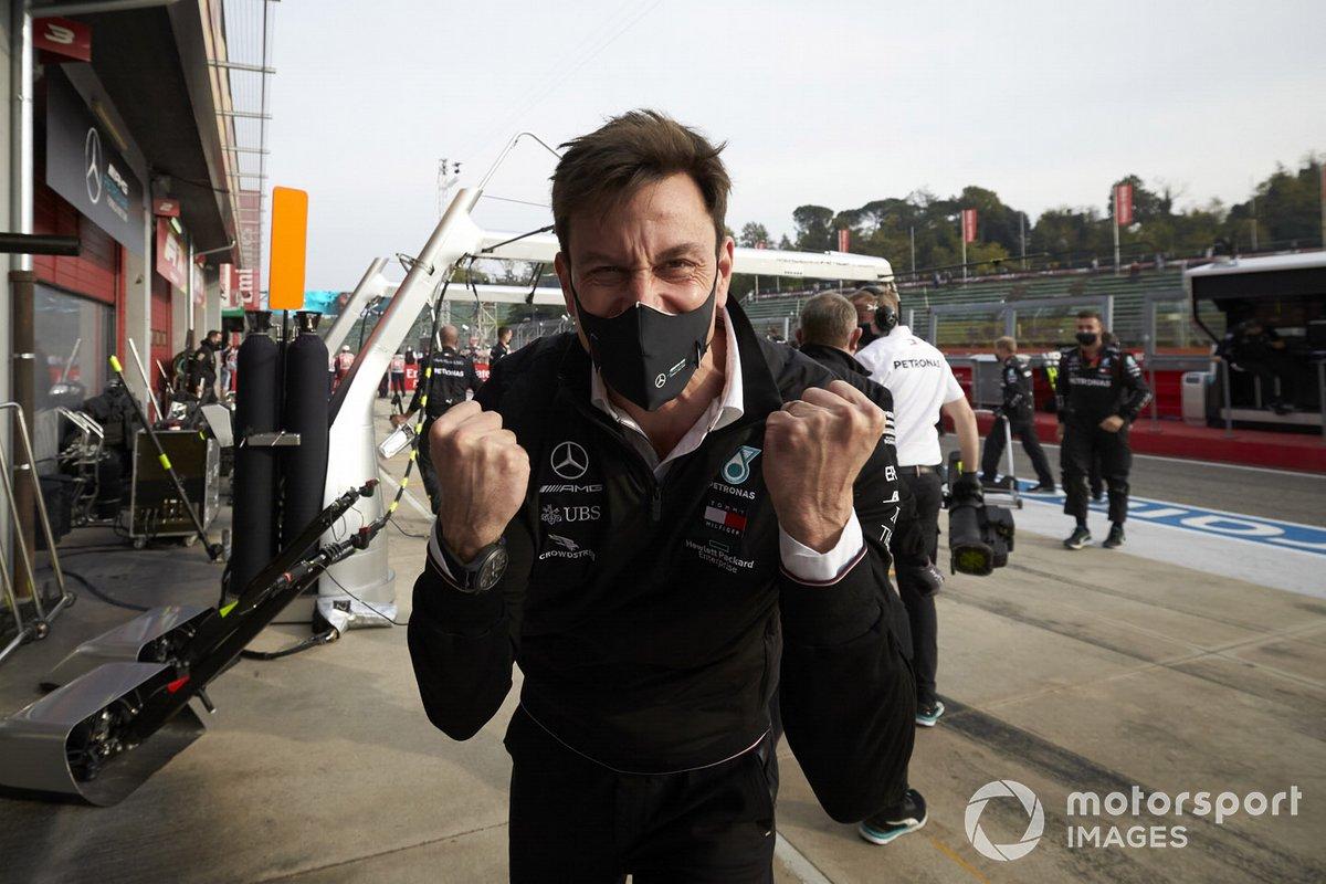 Celebración de Mercedes-AMG F1 de su séptimo título de Constructores