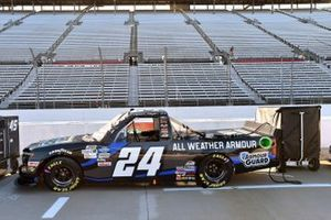 #24: Sam Mayer, GMS Racing, Chevrolet Silverado Armour Guard