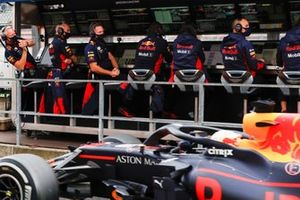 Max Verstappen, Red Bull Racing RB16, tercer lugar