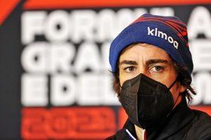 Fernando Alonso, Alpine F1 basın konferansında