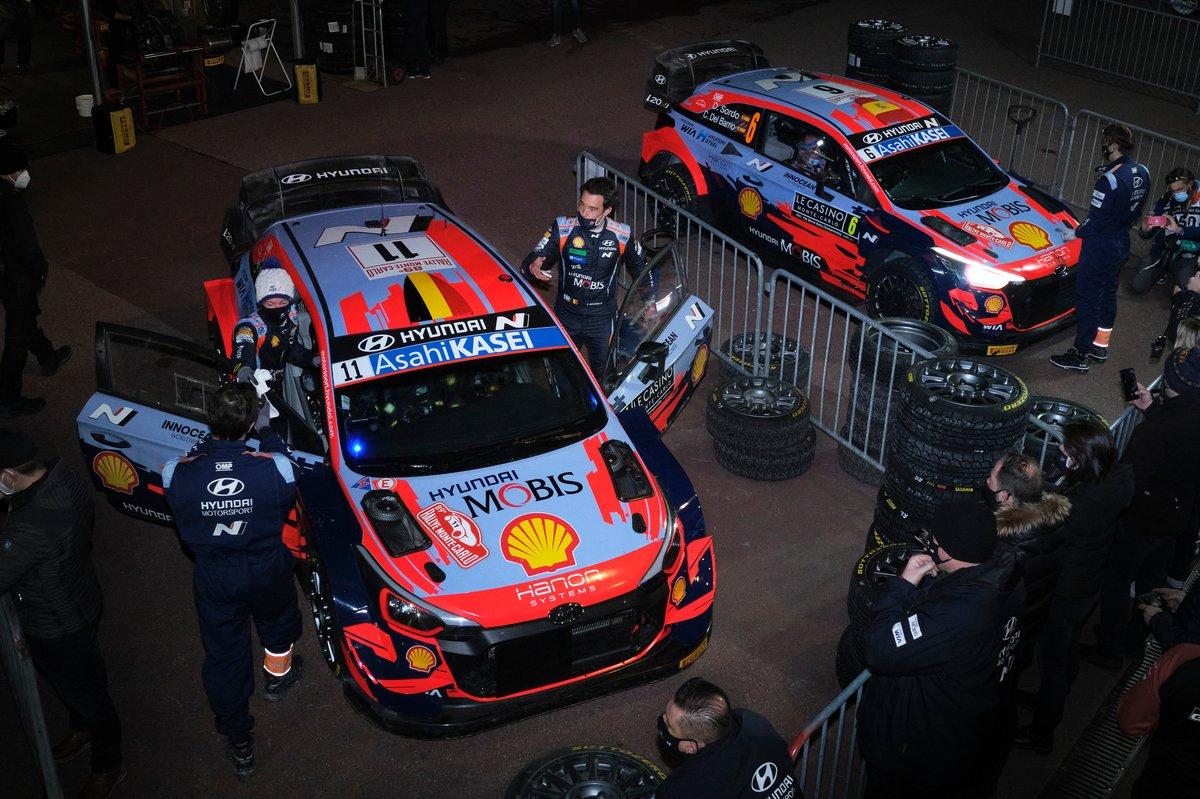 Thierry Neuville, Martijn Wydaeghe, Hyundai Motorsport Hyundai i20 Coupe WRC, Dani Sordo, Carlos Del Barrio, Hyundai Motorsport Hyundai i20 Coupe WRC