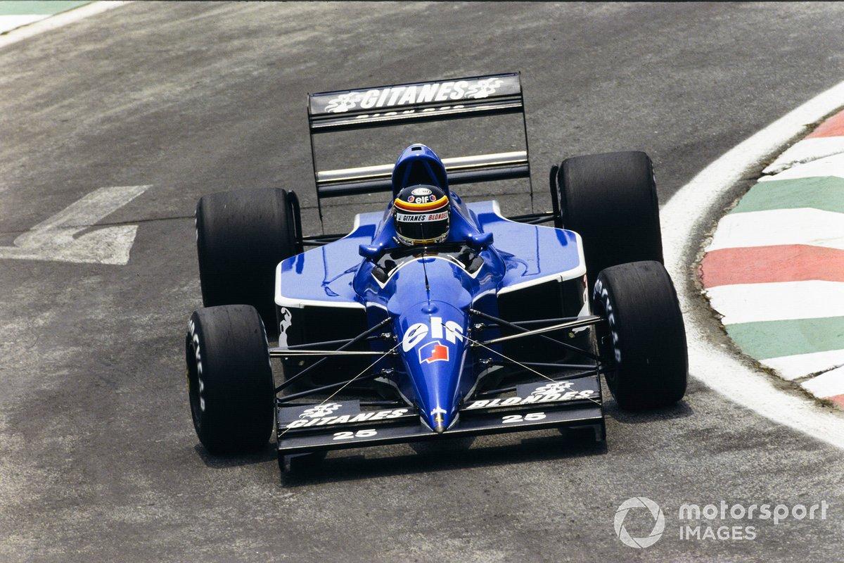 Thierry Boutsen, Ligier JS35 Lamborghini