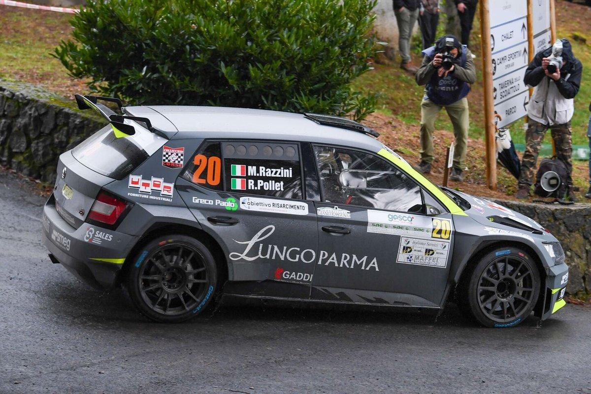 Marcello Razzini, Rudy Pollet, Automobili Collecchio Corse, Skoda Fabia Rally2 Evo