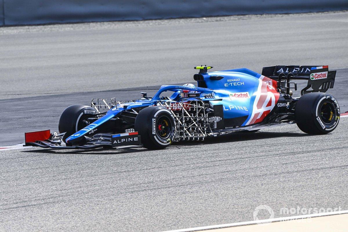 16º Esteban Ocon, Alpine A521, 1:31.146 (con neumáticos C4)