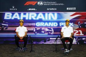 Lando Norris, McLaren, Daniel Ricciardo, McLaren