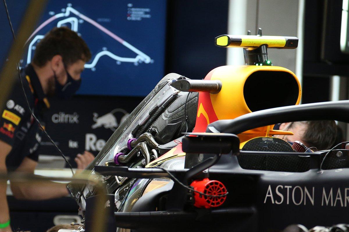Detalles del Red Bull Racing RB16