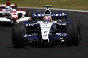 Kazuki Nakajima, Williams FW29 Toyota, Anthony Davidson, Super Aguri SA07-Honda