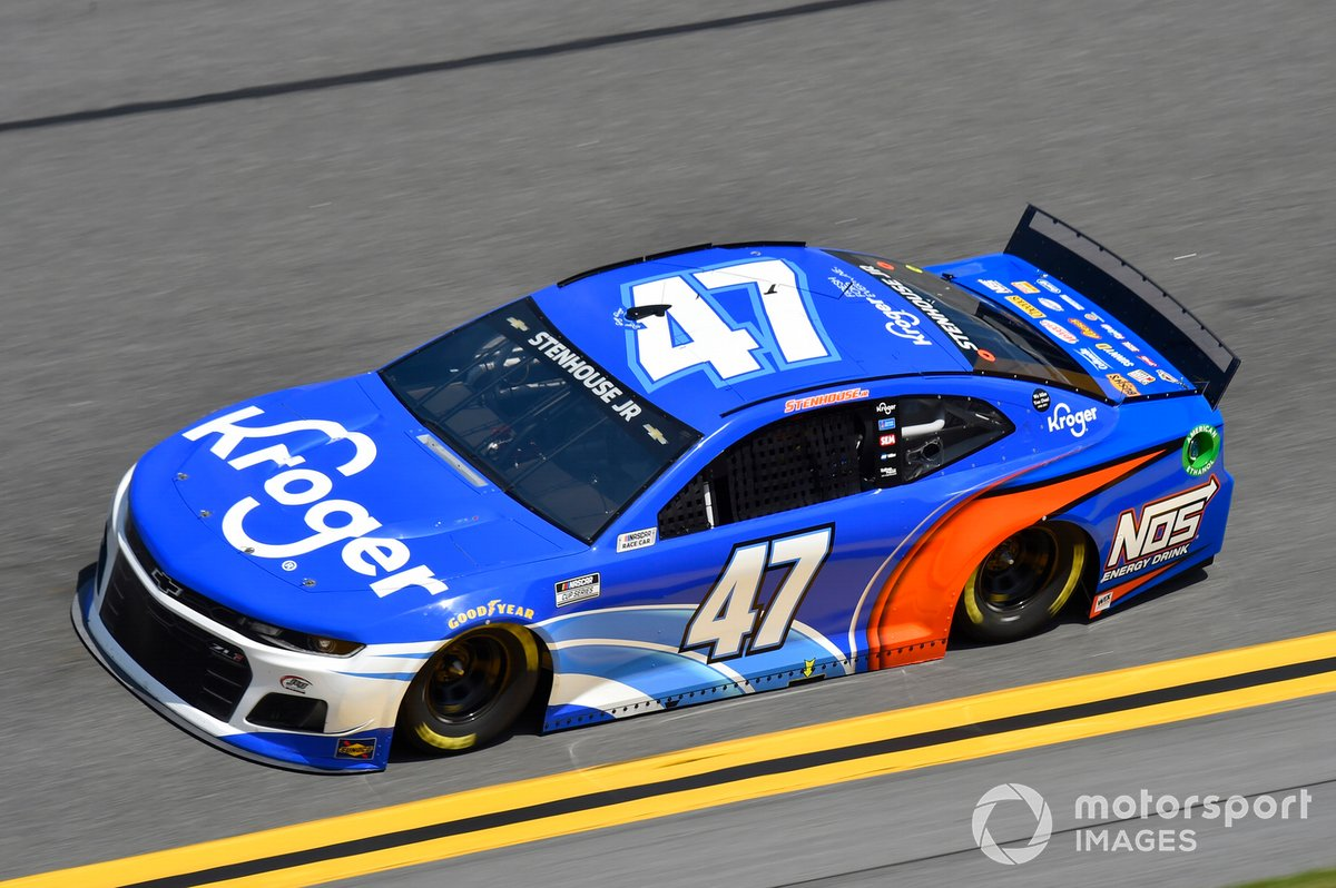 21. Ricky Stenhouse, JTG Daugherty Racing, Chevrolet Camaro