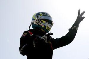 Le vainqueur Guanyu Zhou, Abu Dhabi Racing by Prema