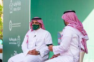 رئيس مجلس إدارة الاتحاد السعودي للسيارات والدراجات النارية، صاحب السمو الملكي الأمير خالد بن سلطان العبد الله الفيصل