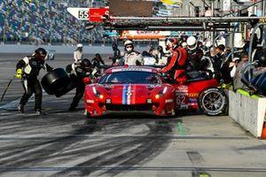 #62 Risi Competizione Ferrari 488 GTE, GTLM: Pit Stop, Davide Rigon, Jules Gounon, Alessandro Pier Guidi, James Calado