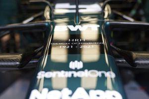 Homenaje a S.A.R. el Duque de Edimburgo en el Aston Martin AMR21