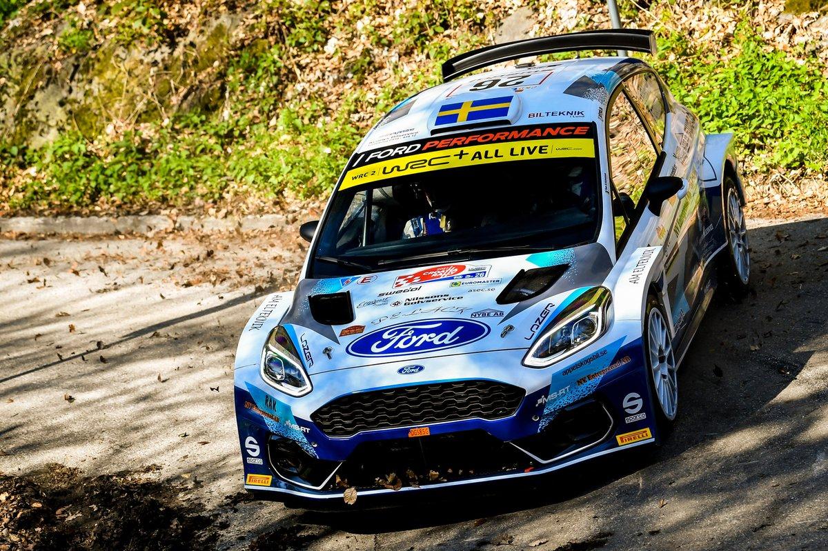 Tom Kristensson, David Arhusiander, M-Sport Ford WRT Ford Fiesta WRC