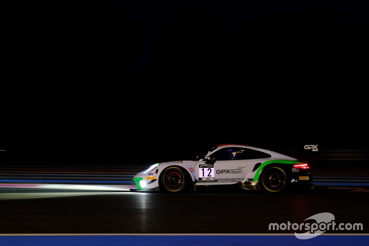 #12 GPX Racing Porsche 911 GT3-R: Matt Campbell, Patrick Pilet, Mathieu Jaminet