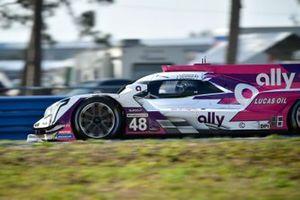 #48: Ally Cadillac Racing Cadillac DPi, DPi: Jimmie Johnson, Kamui Kobayashi, Simon Pagenaud