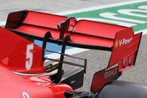 Aileron arrière de la Ferrari SF1000