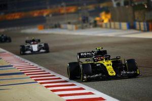 Esteban Ocon, Renault F1 Team R.S.20, Pierre Gasly, AlphaTauri AT01