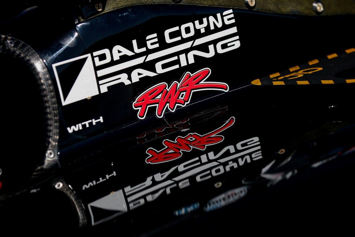 Car of Romain Grosjean, Dale Coyne Racing wit Rick Ware Racing