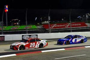 Christopher Bell, Joe Gibbs Racing, Toyota Camry Toyota, Kyle Larson, Hendrick Motorsports, Chevrolet Camaro HendrickCars.com