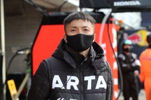 Tomoki Nojiri(#8 ARTA NSX-GT)
