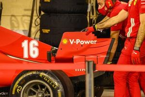 Ferrari SF1000 rear wing detail