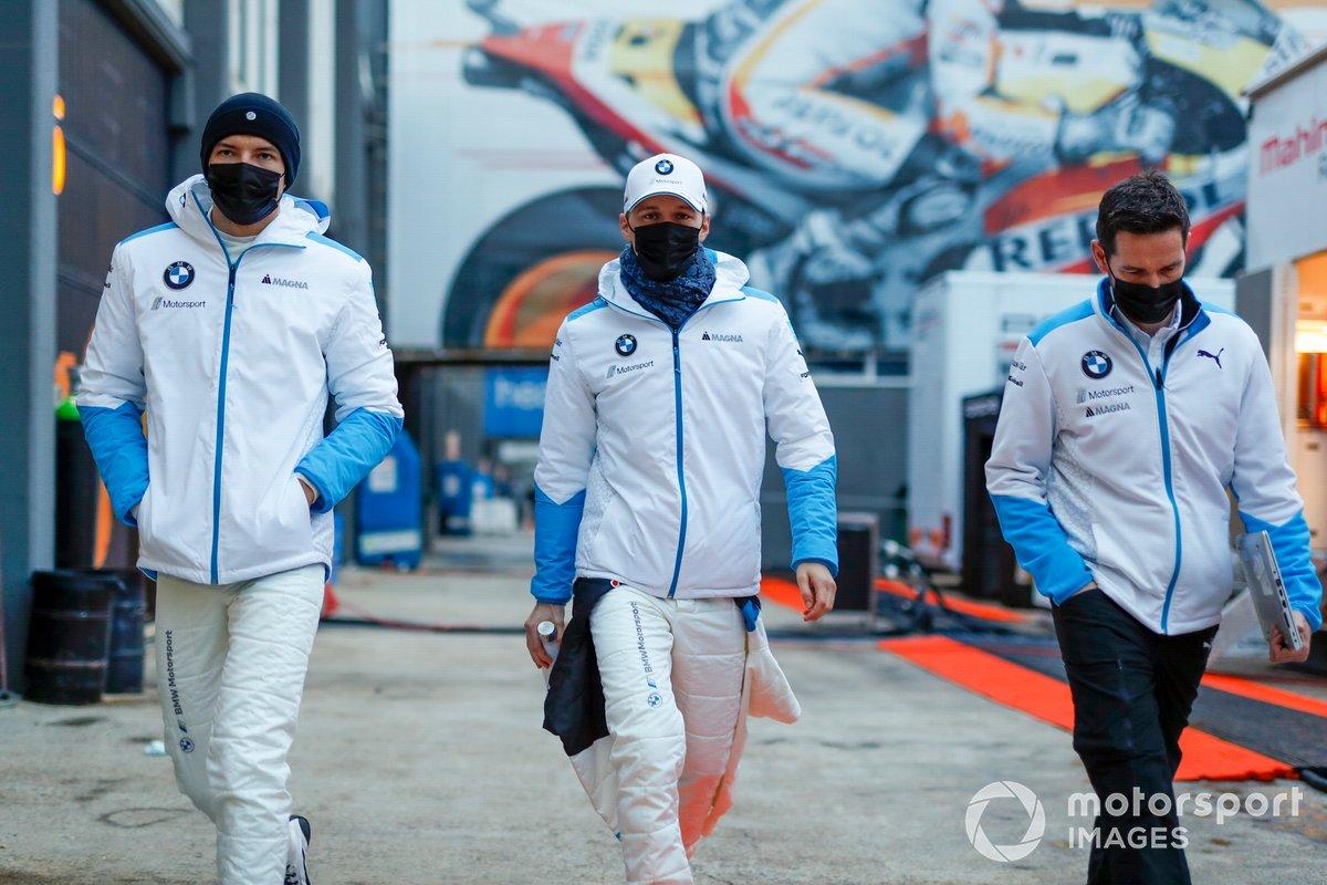 Jake Dennis, BMW i Andretti Motorsport, Maximilian Gunther, BMW i Andretti Motorsports