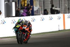 Valentino Rossi, Petronas Yamaha SRT, Miguel Oliveira, Red Bull KTM Factory Racing