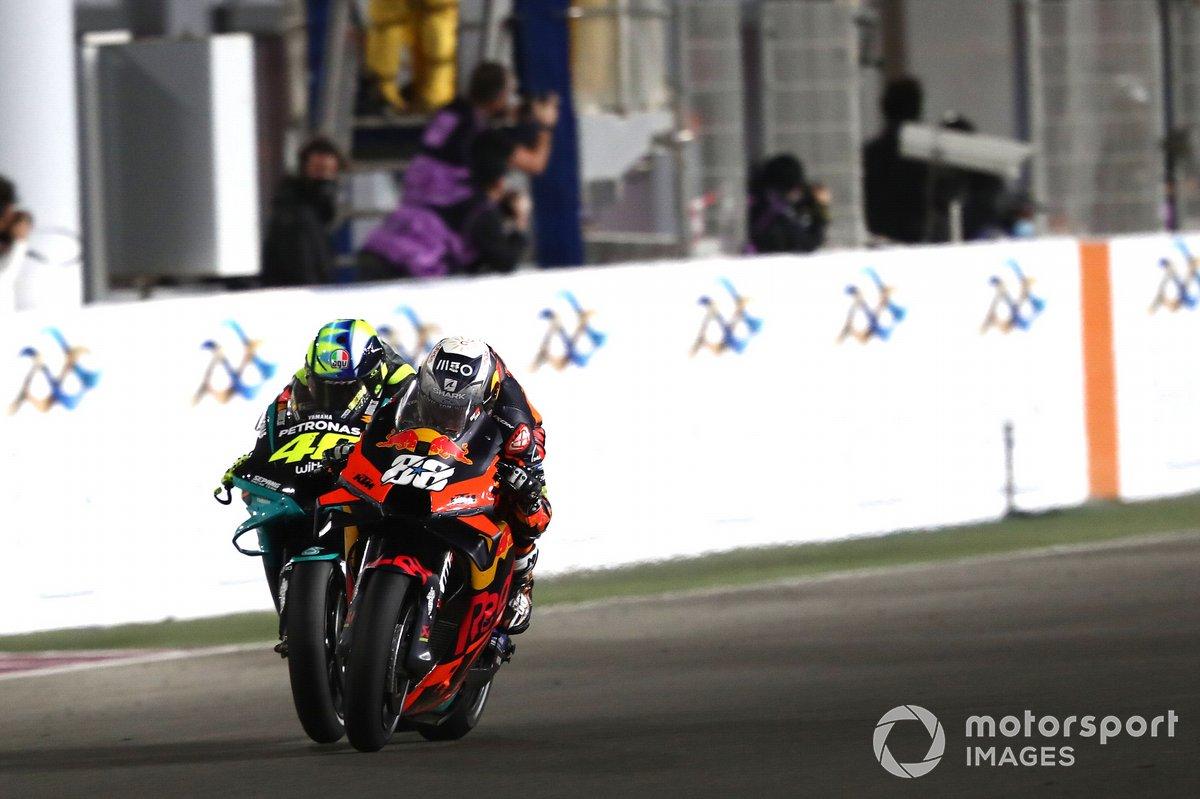 Valentino Rossi et Miguel Oliveira