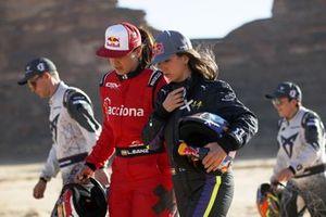 Laia Sanz, Acciona | Sainz XE Team and Cristina Gutierrez, X44
