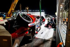 Crash: Alex Lynn, Mahindra Racing, M7Electro