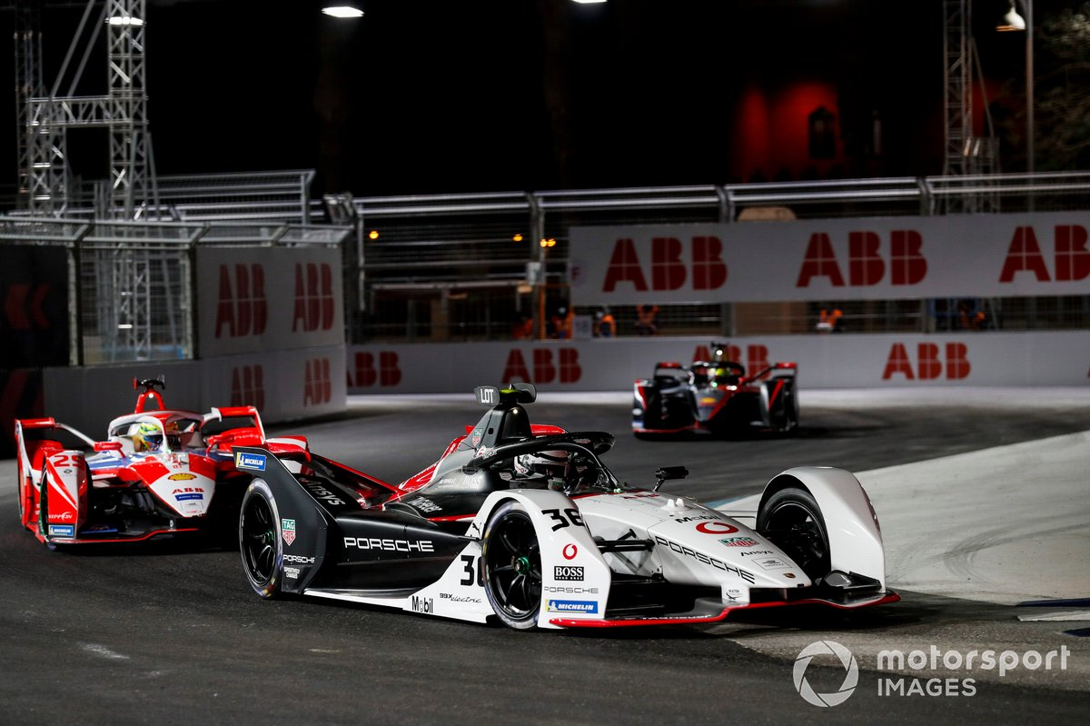 Andre Lotterer, Tag Heuer Porsche, Porsche 99X Electric, Alexander Sims, Mahindra Racing, M7Electro