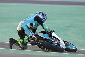 Sturz: Xavier Artigas, Leopard Racing