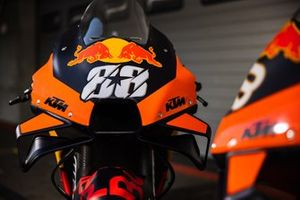 Bike of Miguel Oliveira, Red Bull KTM Factory Racing