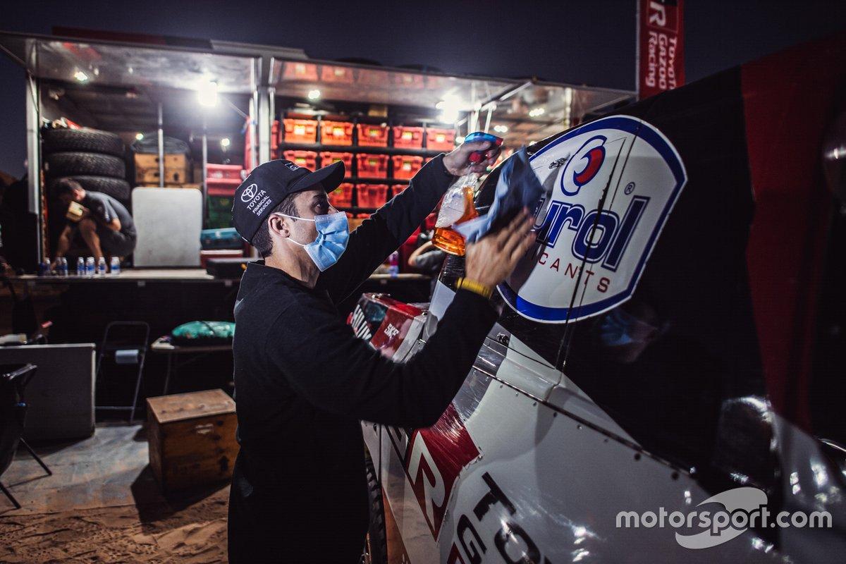 Toyota Gazoo Racing en el vivac