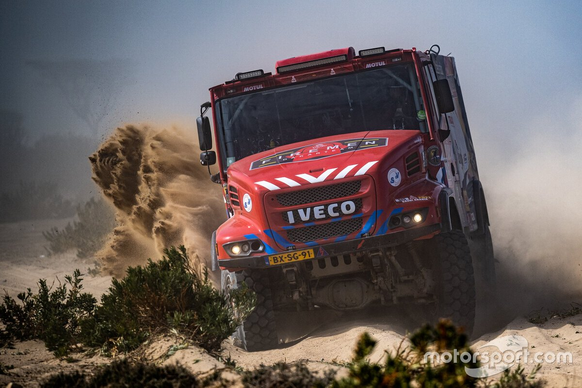 #525 Richard de Groot, Firemen Dakarteam