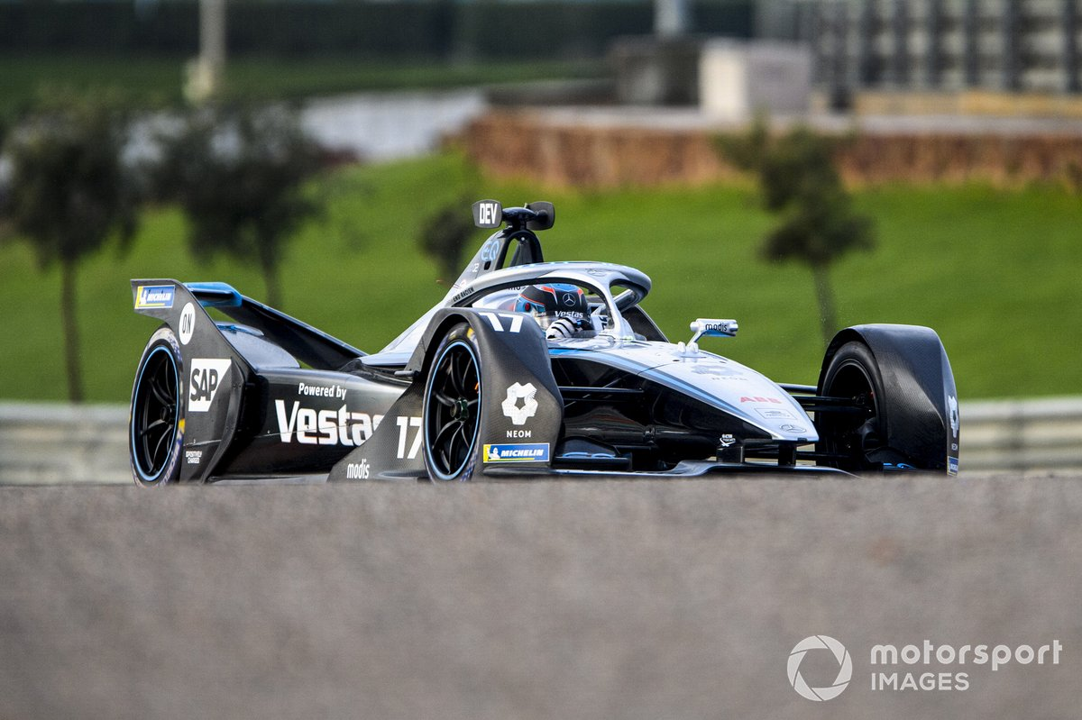 Nyck de Vries, Mercedes-Benz EQ, EQ Silver Arrow 02
