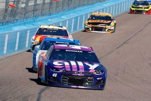 Alex Bowman, Hendrick Motorsports, Chevrolet Camaro Ally/Best Friends, Chase Briscoe, Stewart-Haas Racing, Ford Mustang HighPoint.com