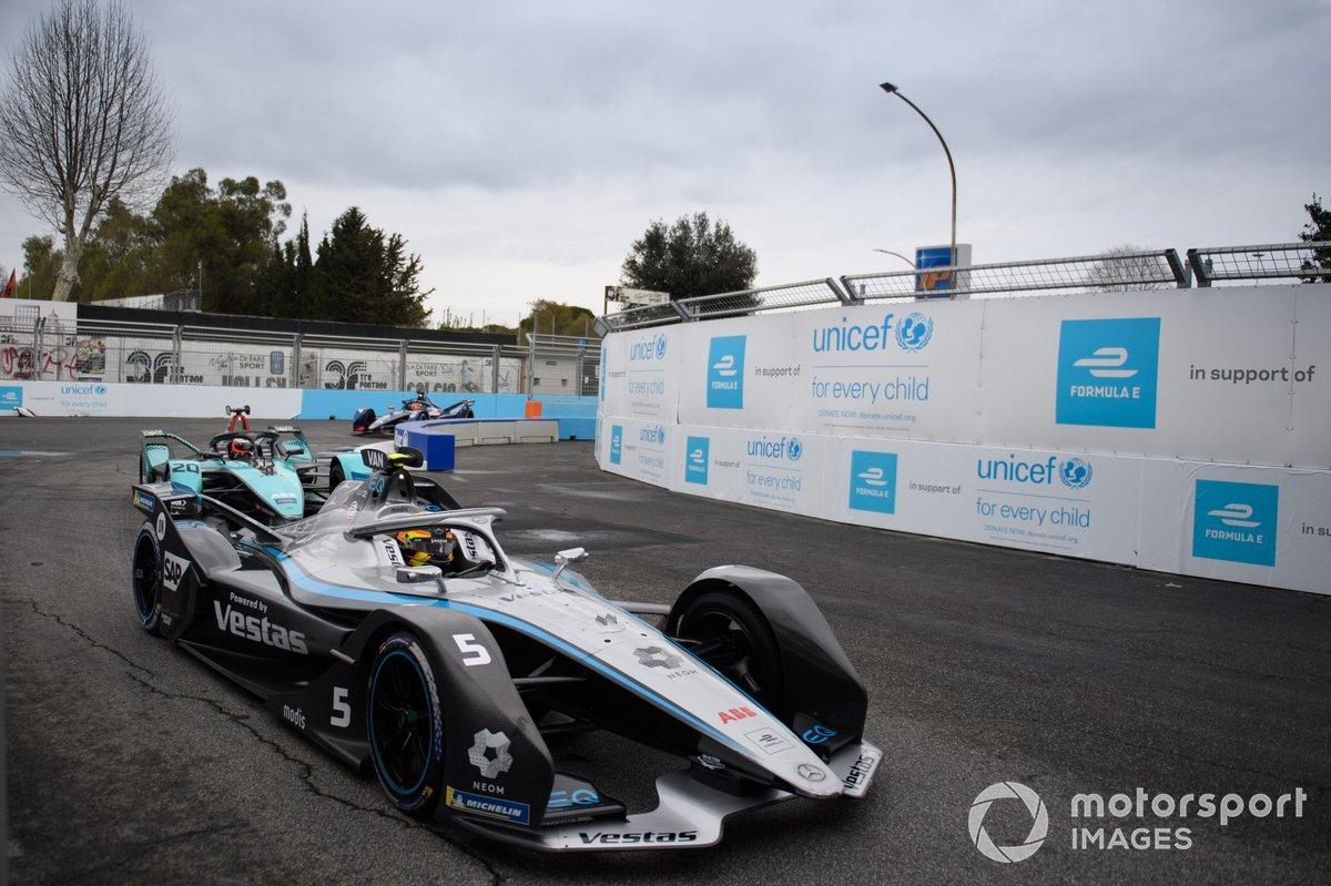 Stoffel Vandoorne, Mercedes Benz EQ, EQ Silver Arrow 02, Mitch Evans, Jaguar Racing, Jaguar I-Type 5