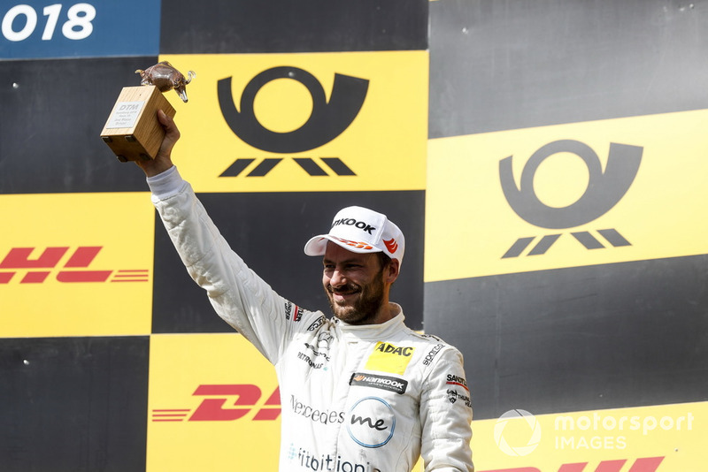 Podium: Third place Gary Paffett, Mercedes-AMG Team HWA