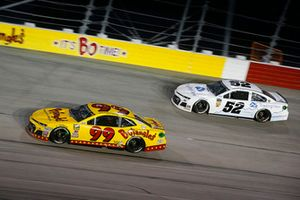 Derrike Cope, StarCom Racing, Chevrolet Camaro Bojangle's and J.J. Yeley, Rick Ware Racing, Chevrolet Camaro Trading View