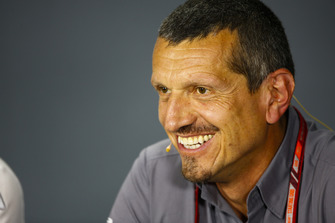 Guenther Steiner, Team Principal, Haas F1, in the Team Principals' Press Conference