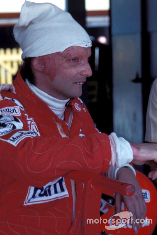 Niki Lauda en 1977, la temporada de su segundo título