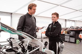 Nico Rosberg and Taylor Barnard